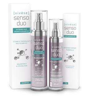 Vivese Senso Duo Shampoo – Osłabione włosy? Pożądasz środka, który rozwiąże ten kłopot i polepszy stan Twoich włosów raz na zawsze? To znalazłaś!