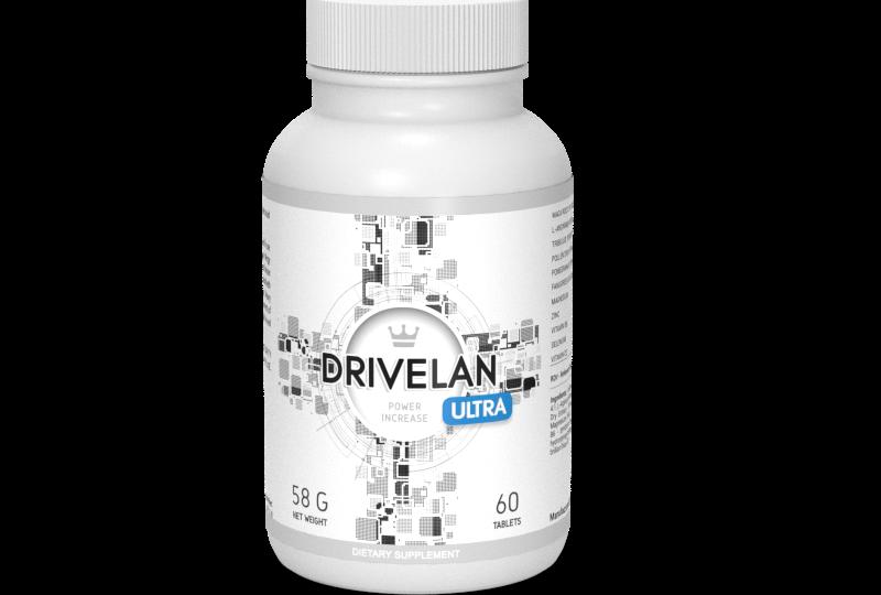 Drivelan Ultra – Efektywny suplement, który poradzi na kłopoty z potencją!